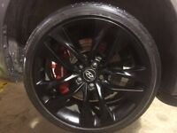 Genesis coupe wheels 19inch
