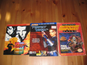 Nintendo Power - GoldenEye, PerfectDark, FF1 - 3 articles