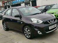 2013 Nissan Micra 1.2 DiG-S Tekna 5dr CVT HATCHBACK Petrol Automatic