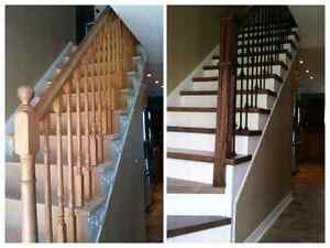 HARDWOOD & LAMINATE INSTALLATION + STAIRS 18 YEARS OF EXPERIENCE