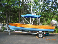Giesler French River Cedar boat