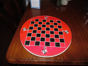 Vintage Chinese Checkers/Parcheesi Tin Game