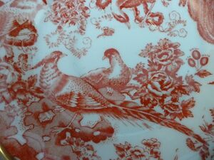 Royal Crown Derby Red Aves Plates $100 Each. Prince George British Columbia image 5