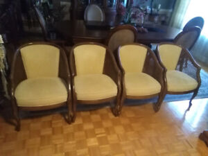 4 Dining Chairs by Regency