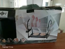 New Boxed Plate cup and utensil rack organiser and utensil holder