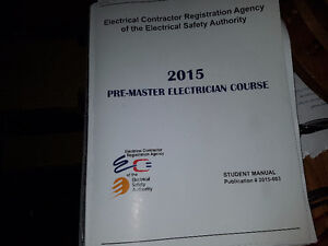 ON LINE MASTER ELECTRICIAN BOOKS