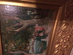 Isobel Mary Knox (Huffman) original oil painting 1938