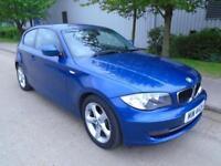 2011 (11) BMW 116 2.0 DIESEL MANUAL 5 DOOR SPORT PARKING SENSORS