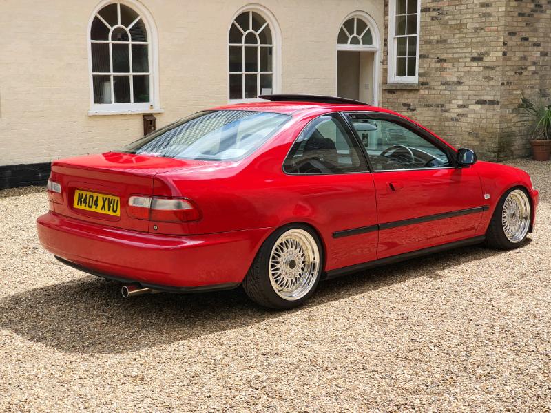 1995 Honda Civic EG Coupe EJ2 - Stance Modified Lowered EK ...