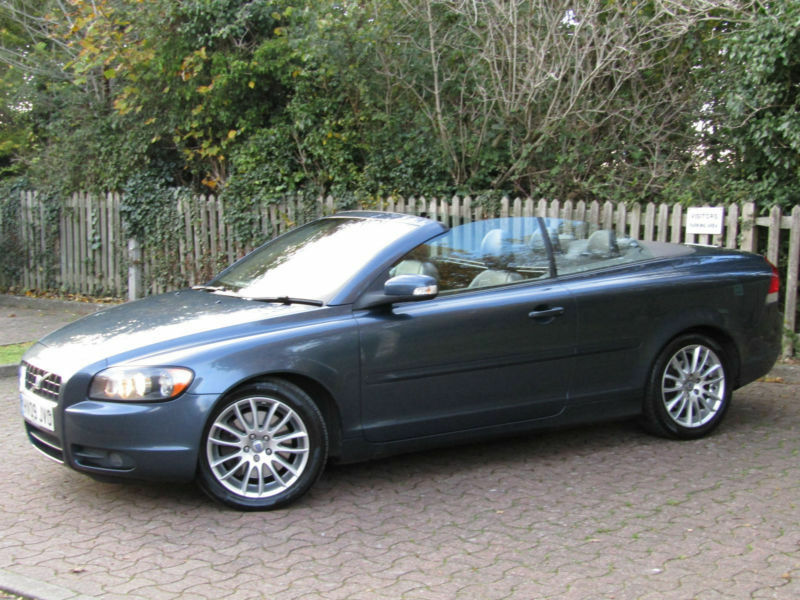 volvo c70 2 4 d5 se diesel cabriolet 1 owner full service history immaculate in. Black Bedroom Furniture Sets. Home Design Ideas