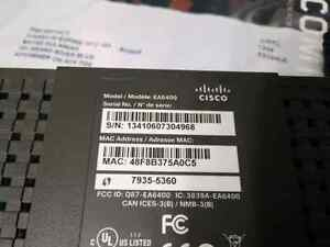 CISCO Linksys EA6400 AC WIFI router