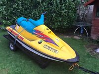 Montego Jetski ski and trailer fully working px welcome