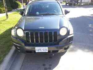 2008 jeep compass  .certified and etest.