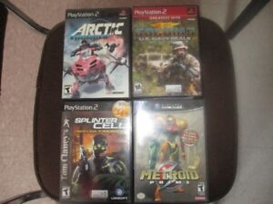 playstation 2 plus 12 games