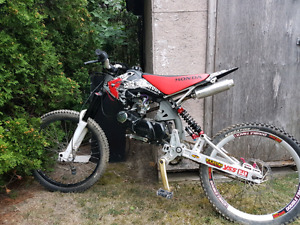 125cc Motoped motorized bicycle moped