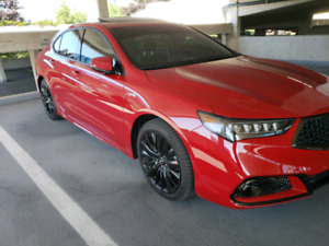 2018 Red Acura TLX Aspec $550/month taxes included