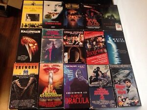 Wanted VHS horror movies