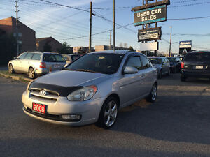 *CERTITIED*NO ACCIDENT*2008 Hyundai Accent GL Coupe MANUAL