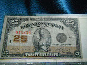 Canadian & Dominion of Canada Bank Notes