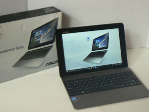 """ASUS 10.1"""" Convertible Tablet with Keyboard Dock 4gbRam window10"""