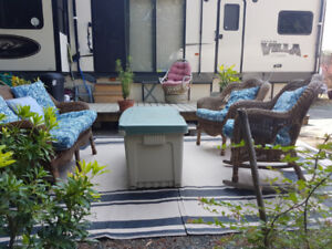 For Rent:Lo Cost Mobile Home for the Winter on Vancouver Island