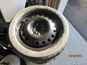 Roues de 17 pouces pour pneus à neige