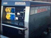 Honda EX10D Silent Generator 10kw. Brilliant Generator 1340 hours