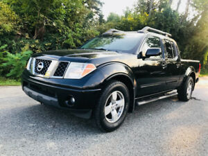 2007 NISSAN FRONTIER CREW CAB LOADED, BLACK ON GREY LETHER!!!
