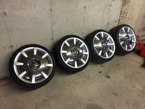 Volkswagon - Rims and new summer pirelli tires