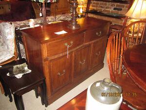 Mahogany Buffet Antique