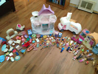 Lot of Doll House toys