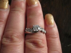 engagement ring from Kay Jewelers (US)