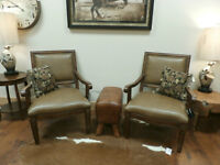 Tan Leather Chairs