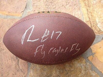 46a9d33d3ef  NELSON AGHOLOR SIGNED AUTOGRAPHED FOOTBALL PHILADELPHIA EAGLES 2015 DRAFT  PROOF