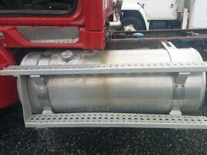 Drivers side aluminum fuel tank from a 2005 Sterling LT9500
