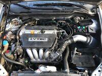 2003 Honda Accord Engine Motor K24a 2.4 Vtec 03