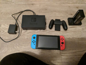 Nintendo Switch and Mario Odyssey For Sale