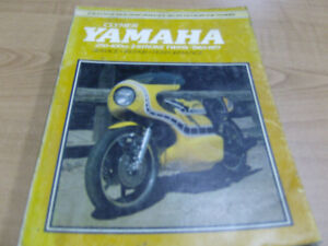 YAMAHA 250-400cc TWO STROKE CLYMER WORKSHOP MANUAL Cambridge Kitchener Area image 2