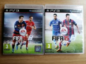 PS3 GAMES ~FIFA 15/16