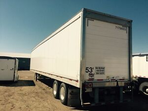 Wabash 2017 reefer rear door and hitch