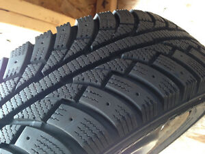 Set of 4 winter tires in rims