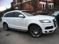 Audi Q7 3.0 TDI S LINE QUATTRO Tech Pack High (white) 2010