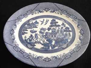 Vintage Blue Willow by Churchill - Serving Platter