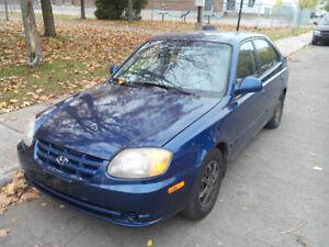 2006 Hyundai Accent Familiale