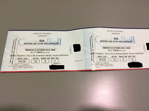 Sia Concert Tickets
