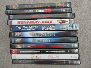 Variety of Action/Adventure Movies on DVD