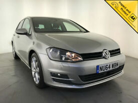 2014 VOLKSWAGEN GOLF GT BLUEMOTION TECH TDI DIESEL 1 OWNER VW SERVICE HISTORY