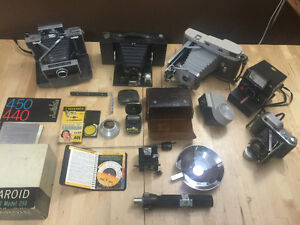Large Vintage Camera Collection