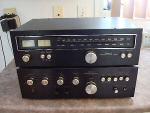 SANSUI DUO : AMPLIFICATEUR  ET  TUNER