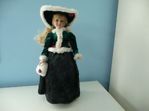 Porcelain Doll With Stand And Original Box - 4 To Choose From London Ontario image 4